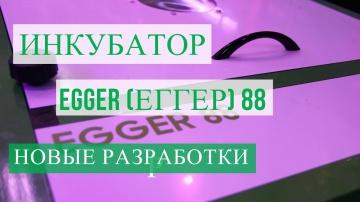 Юлия Минаева Инкубатор EGGER (ЕГГЕР) 88. Новые разработки.