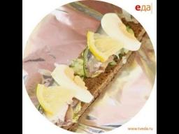 Бутерброды с килькой по-советски Лазерсона | Обед безбрачия