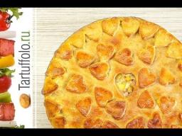 Алена Митрофанова -  Пирог с курицей и картошкой на Творожном тесте