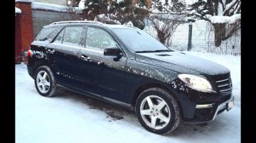 Обзор Mercedes ML350 W166 приЛичной эксплуатации/ Тест-драйв Мерседес МЛ350