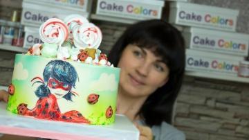 Я ТОРТодел Оформляем торт для девочки + Ноябрьский розыгрыш- Я - ТОРТодел!