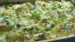 Рыбная запеканка с картофелем | Рецепт Светланы Черновой