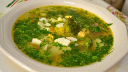 Суп Весенний с Брокколи Ну, оОчень вкусный Рецепт Семейной кухни