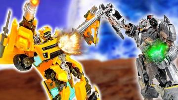 Трансформеры и Камни Силы Финальная битва с Десептиконами Мультик про машинки для мальчиков
