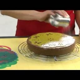 Украшение торта трафаретом | Видео мастер класс