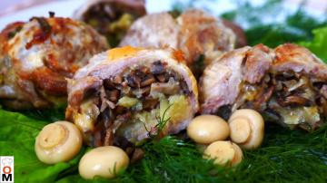 Фаршированное Мясо в Кружке Основное Блюдо Праздничного Стола | Рецепт Ольги Матвей