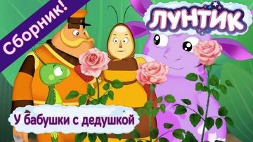Мультфильм Лунтик у бабушки