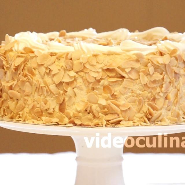 """Бисквитный торт """"Нежность"""" в домашних условиях - Рецепт от Бабушки Эммы"""