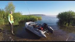 Открытие летнего рыболовного сезона, обкатка мотора Suzuki 9,9