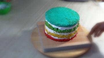 Я ТОРТодел Радужный торт с йогуртным кремом - Я - ТОРТодел!