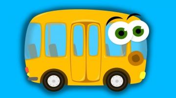 Мультики. МУЛЬТИКИ ПРО МАШИНКИ. Автобус. Развивающее видео для детей