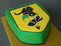 """Торт """"Логотип"""" подарок мужчине"""
