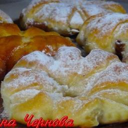 Булочки с Вареной Сгущенкой Очень Мягкие и Вкусные