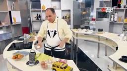 Свиная отбивная  рецепт от шеф-повара / Илья Лазерсон/ австрийская кухня