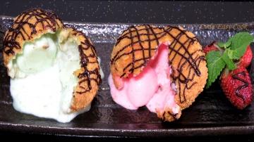 LudaEasyCook Как приготовить Жареное #мороженое - вкуснейший десерт рецепт видео #LudaEasyCook