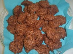 Шоколадно сливовое печенье | Рецепт Маринкины Творинки