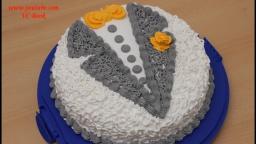 Торт Пиджак | Торт с белковым заварным кремом | Украшение тортов