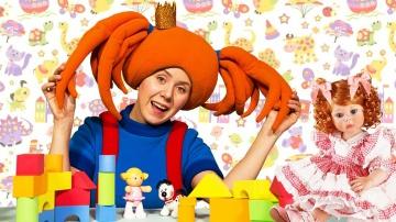 Теремок ТВ Жила-была Царевна - Поиграйка Детский садик Развивающие мультики и песенки для детей