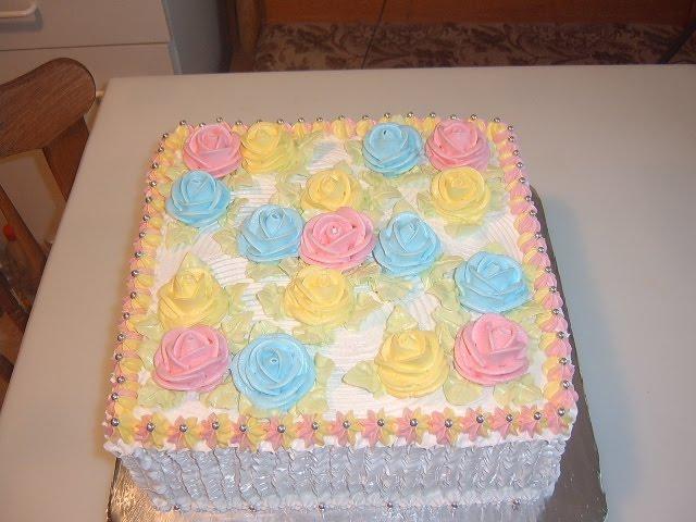 Маринкины творинки. Торт кремовый.