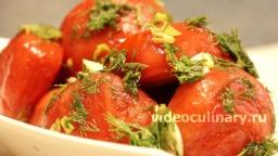 Быстрая засолка помидоров в собственном соку - Рецепт Бабушки Эммы
