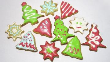 Афинка Diy Новогоднее песочное печенье / Christmas Cookies / Мастер класс / DIY