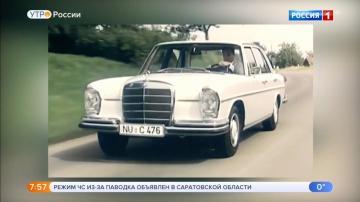 Mercedes Benz 280 S 1961 года.Видео обзор.Тест драйв.