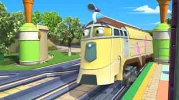Мультфильмы - Веселые паровозики из Чаггингтона - Уилсон и мороженое - Серия 25