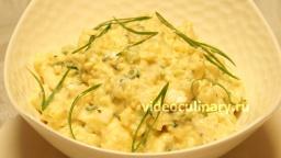 Картофельный салат с яйцами - Рецепт Бабушки Эммы