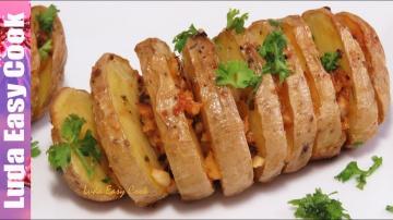 Позитивная Кухня ВКУСНАЯ КАРТОШКА ГАРМОШКА в духовке простой гарнир из картофеля | Simple dishes of