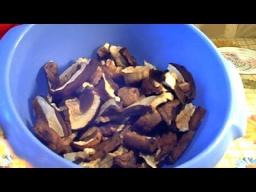 Светлана Чернова -  Сухие белые грибы