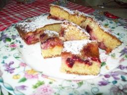 Пирог со сливами. | Рецепт Светланы Черновой