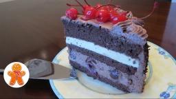 Ирина Хлебникова - Шварцвальдский торт «Черный лес» по рецепту Алена Дюкасса