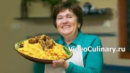 Плов - рецепт настоящего узбекского плова от Бабушки Эммы