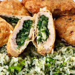 Вкусный Обед На Всю Семью | Мясные Кармашки С Луком и Зеленью + Гарнир